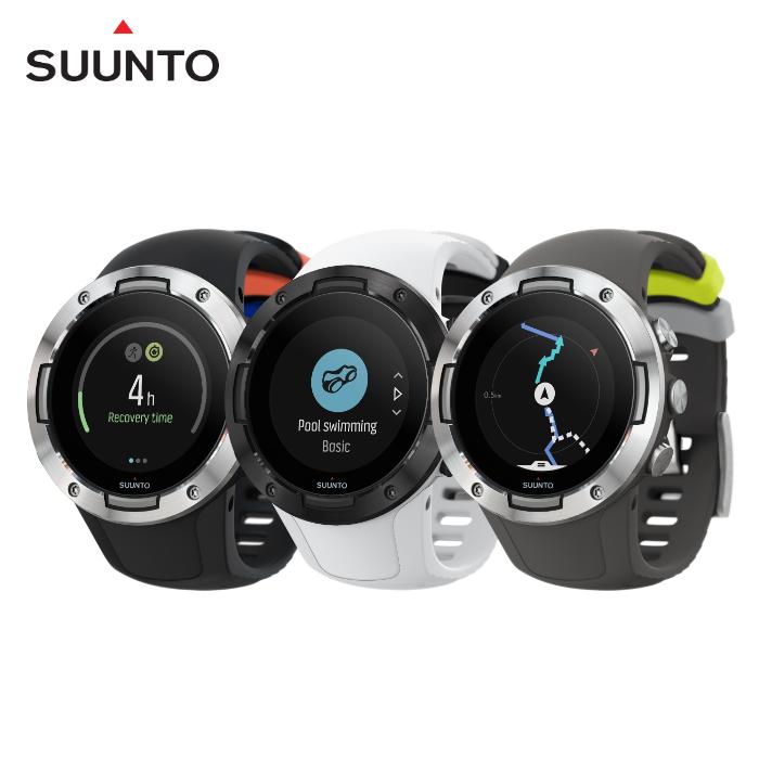 【新顏色】SUUNTO 5 堅固輕巧質精、絕佳電池續航力的多項目運動GPS腕錶