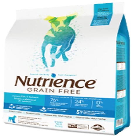 紐崔斯Nutrience無穀養生犬(多種鮮魚)配方 2.5kg