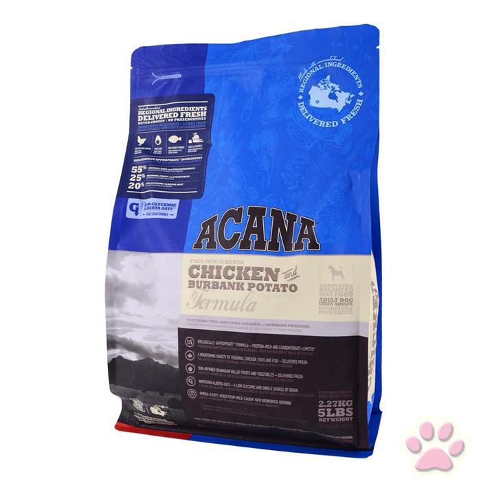 *愛肯拿ACANA-潔牙成犬配方(放養雞肉+整顆馬鈴薯)18kg