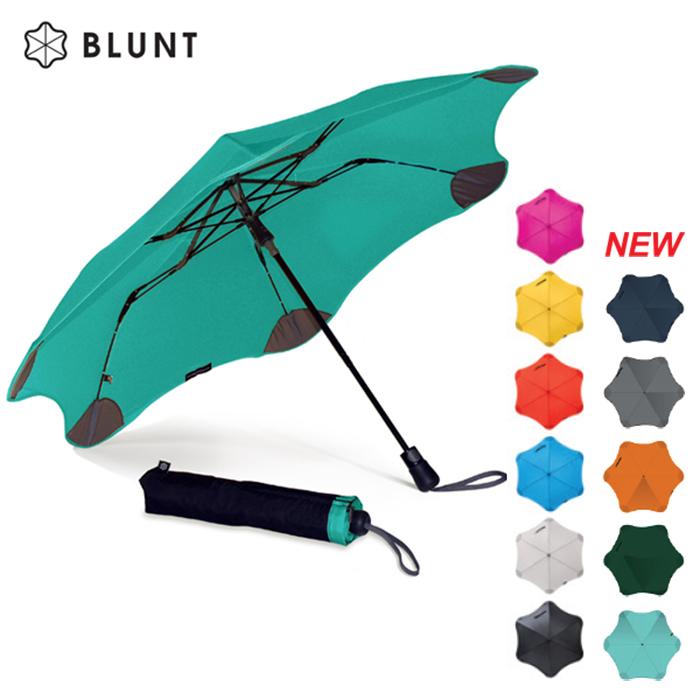 【紐西蘭BLUNT 保蘭特】抗強風防反轉抗UV時尚雨傘(折傘 XS_Metro/11色)