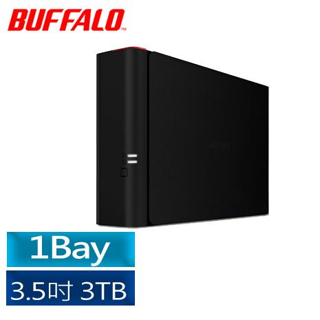 【BUFFALO】 NAS 1bay  3TB 雲端硬碟 (LS410D0301)