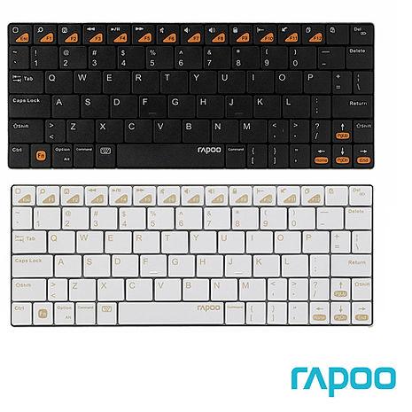 Rapoo 雷柏 E6300 藍牙超薄鍵盤-3C電腦週邊-myfone購物