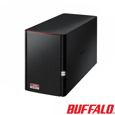 BUFFALO LS520D高性能雲端硬碟 2 bay 空機 NAS(LS520D)