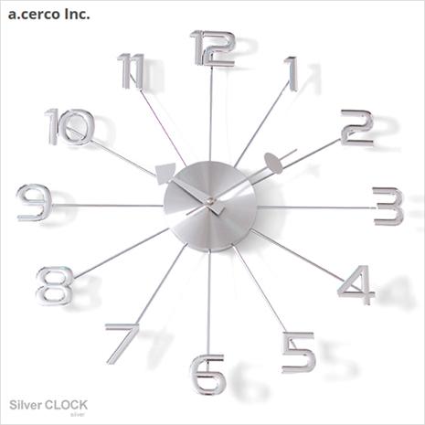 【a.cerco】高品質台灣機心 大數字時鐘