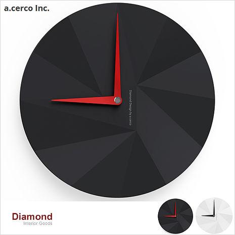 【a.cerco】高品質台灣機芯 DIAMOND (兩色可選)