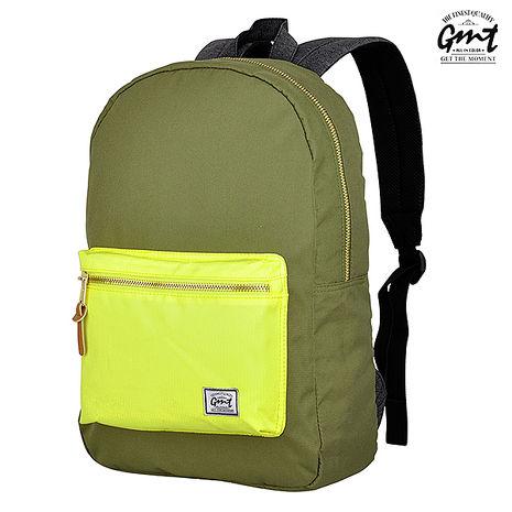 【GMT】挪威設計專業15吋電腦背包(軍綠)