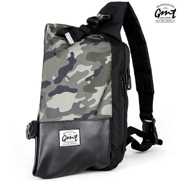 【GMT】挪威潮流品牌 迷彩單車休閒側背包