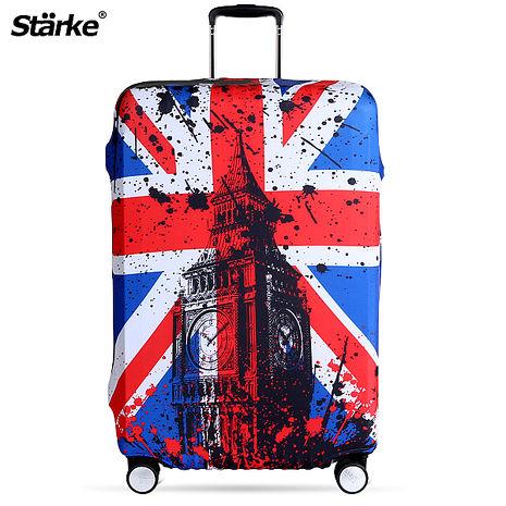 Starke 高彈性行李箱套-倫敦國旗