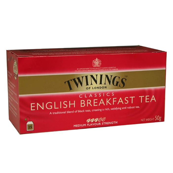 Twinings 唐寧茶 英倫早餐茶(2gx25入)