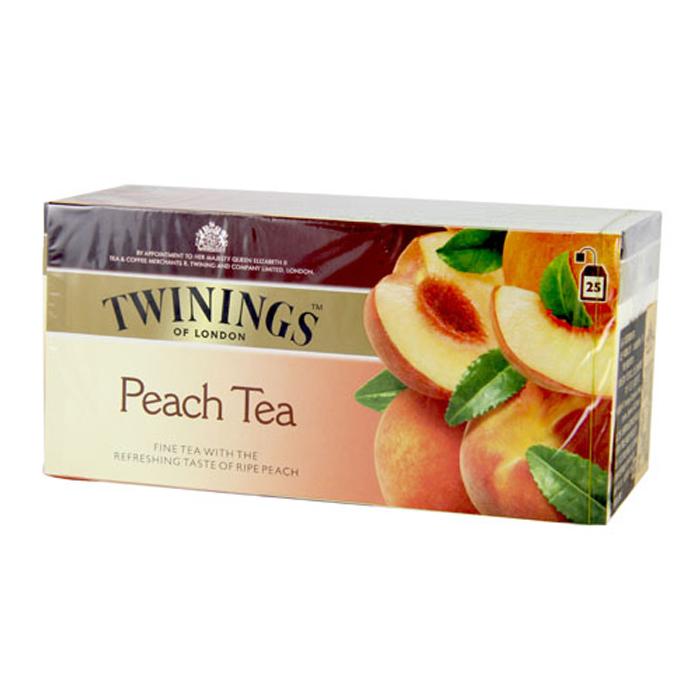 Twinings 唐寧茶 香甜蜜桃茶(2gx25入)
