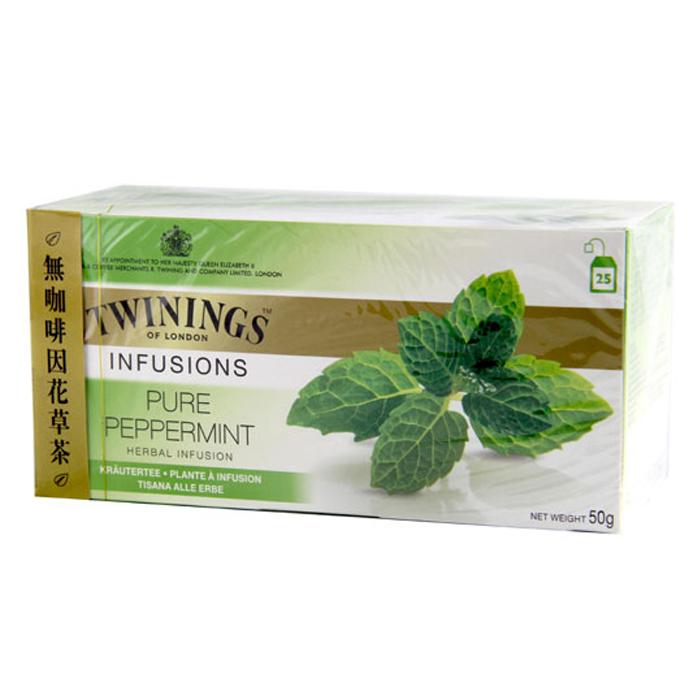 Twinings 唐寧茶 沁心薄荷茶(2gx25入)