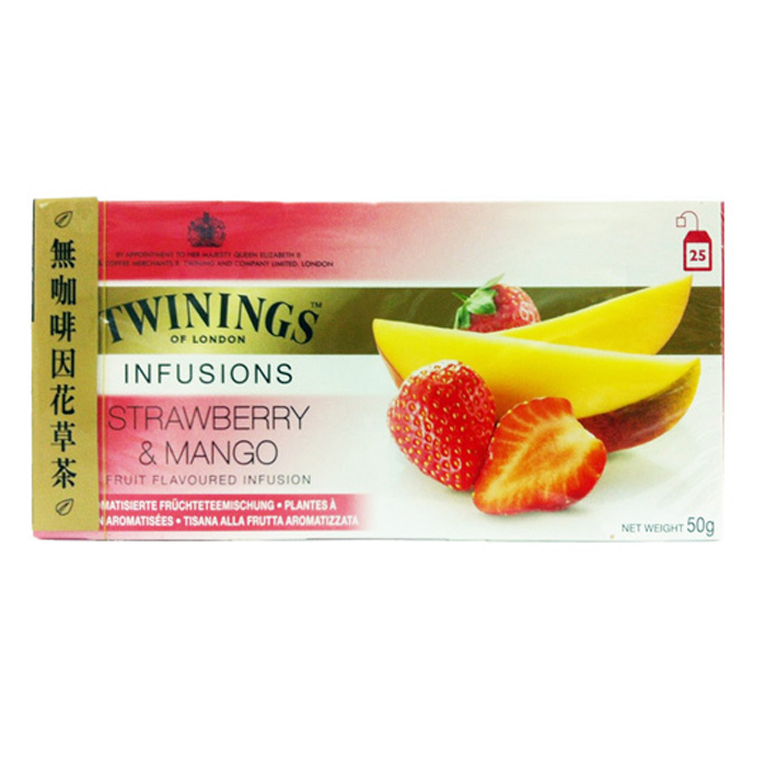 Twinings 唐寧茶 草莓芒果茶(2gx25入)