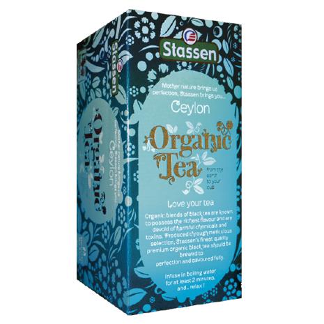 Stassen 司迪生 有機栽培特錫蘭紅茶 2g*25入