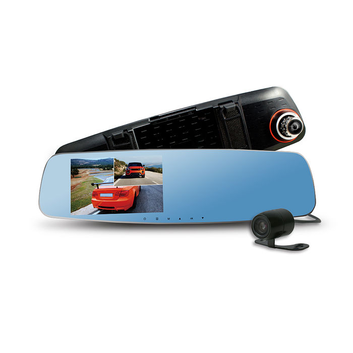 【APP限定】CARSCAM行車王 CR-10 190度WDR雙鏡頭行車記錄器