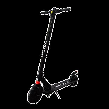 CARSCAM 8吋雙避震鋁合金8.8Ah輔助輪電動折疊滑板車-加贈防塵口罩