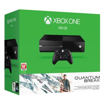Xbox One 單機版量子裂痕同捆組 (黑色)《贈主機收藏包+手把果凍套 》再加贈遊戲下載卡*3片
