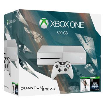 Xbox One 單機版量子裂痕同捆組 (白色) 贈:主機收藏包+手把果凍套 》再加贈遊戲下載卡*3片