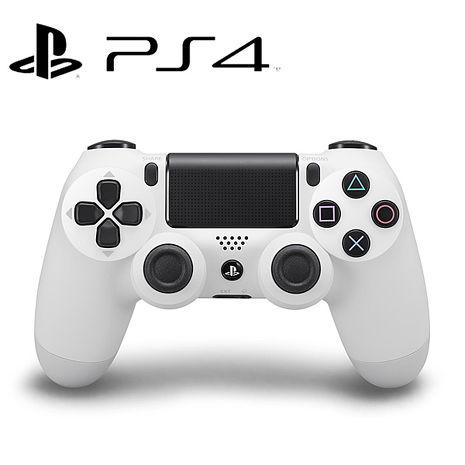 PS4 DUALSHOCK4 無線控制器 (冰河白) 贈:手把果凍套