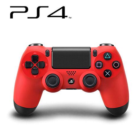 PS4 DUALSHOCK4 無線控制器 (熔岩紅) 贈:手把果凍套