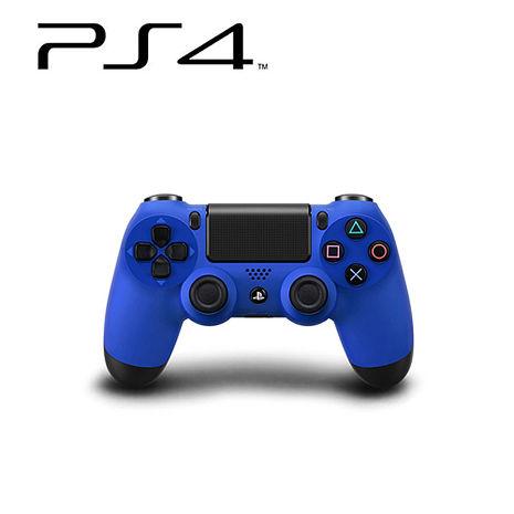 PS4 DUALSHOCK4 無線控制器 (海浪藍) 贈:手把果凍套