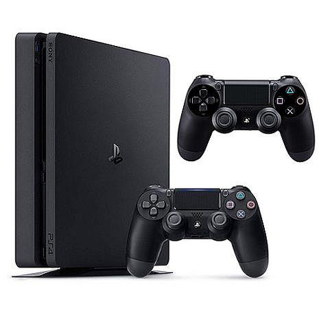 PS4 2017 500G主機《雙手把組》贈:手把果凍套*2第2支手把海浪藍