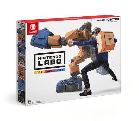 【Switch】任天堂實驗室 Labo 機器人Toy-Con02 ROBOT KIT 紙箱
