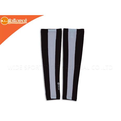 【WILDLAND】男女中性防曬袖套-台灣製 抗UV 黑S