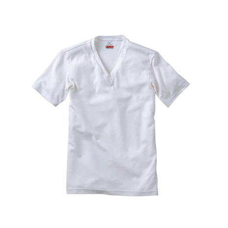 【MIZUNO】BREATH THERMO 男短袖發熱衣-T恤 保暖 消臭 淺灰