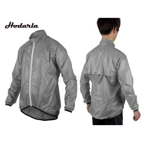 【INSTAR】HODARLA 輕羽 防水防曬單車風衣- 抗UV 輕量 可收納 95.5克 清透灰L