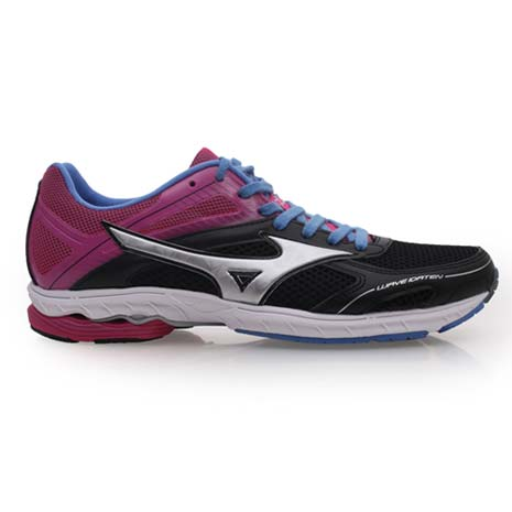 【MIZUNO】WAVE IDATEN DYNA 2 女路跑鞋-慢跑 美津濃 黑桃紅紫