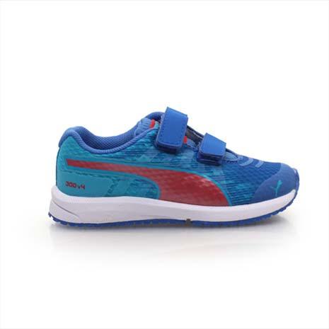 【PUMA】FAAS 300 V4 V KIDS 男女兒童慢跑鞋-運動鞋 跑步 藍