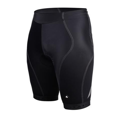 【SOGK】男鐵人三項專用短褲-慢跑 路跑 單車 自行車 三鐵褲 反光 透氣 黑M