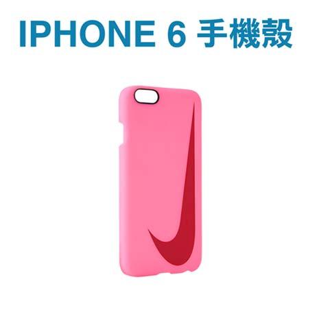 【NIKE】SWOOSH HARD IPHONE 6 4.7吋手機殼-保護殼硬殼 桃紅