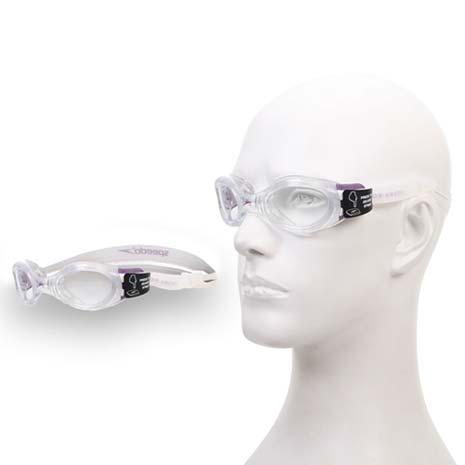 【SPEEDO】BIOFUSE 成人進階型泳鏡-游泳 蛙鏡 防霧 抗UV 透明紫F