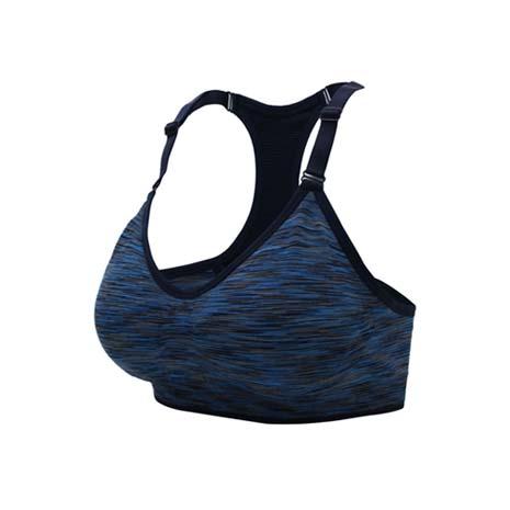 【INSTAR】細肩帶女運動內衣-運動BAR 背心 韻律 有氧 瑜珈 比基尼 藍丈青L