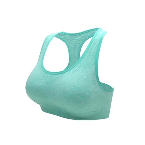 【INSTAR】寬肩帶女運動內衣-運動BAR 背心 韻律 有氧 瑜珈 湖水綠S