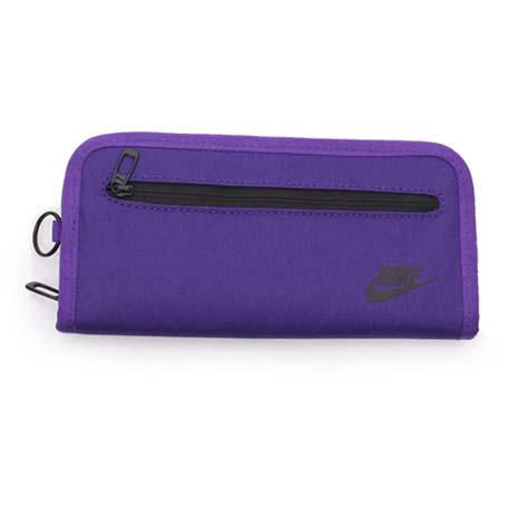 【NIKE】手拿包-手機包 手提包 長夾 紫黑