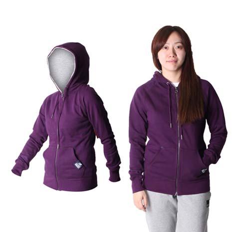【NEWBALANCE】女款連帽外套 - NB 運動外套 休閒外套 深紫M