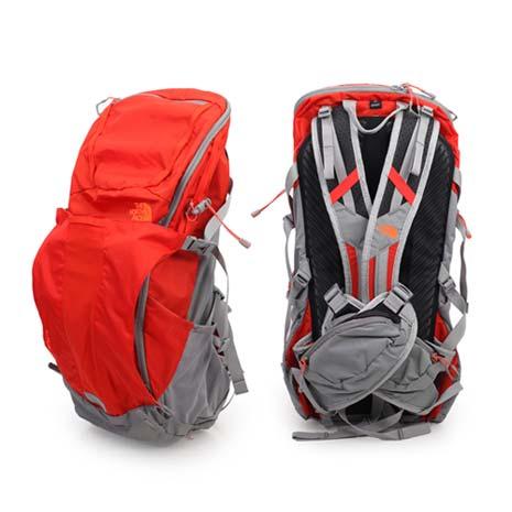 【THE NORTH FACE】輕量專業登山背包-32L-後背包 露營  橘淺灰
