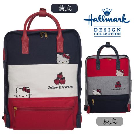 HELLO KITTY × Hallmark聯名時尚方型兩用後背包