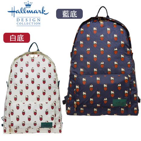 HELLO KITTY × Hallmark聯名後背包(草莓)
