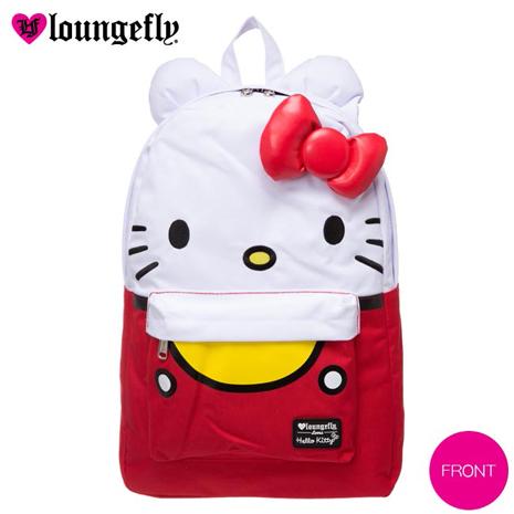 Loungefly Hello Kitty 後背包 艾薇兒聯名款-大臉