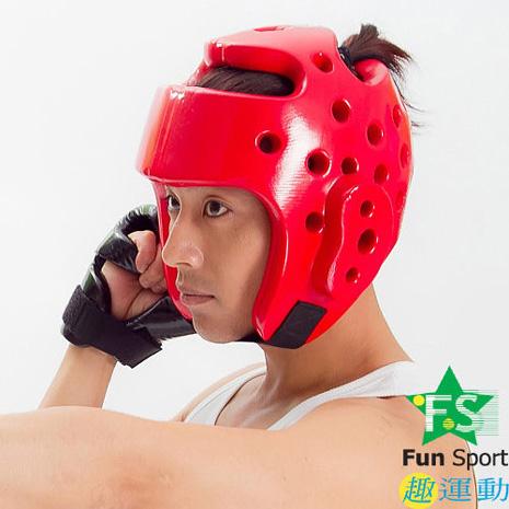 《Fun sport》【武術跆拳】跆拳道護頭(20mm厚) AO-200
