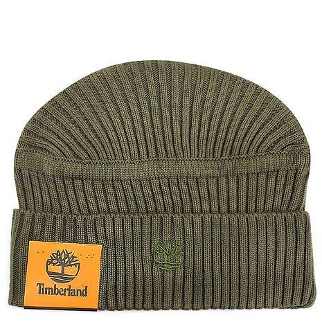 Timberland LOGO針織蓋帽(One Size軍/綠色)-服飾‧鞋包‧內著‧手錶-myfone購物