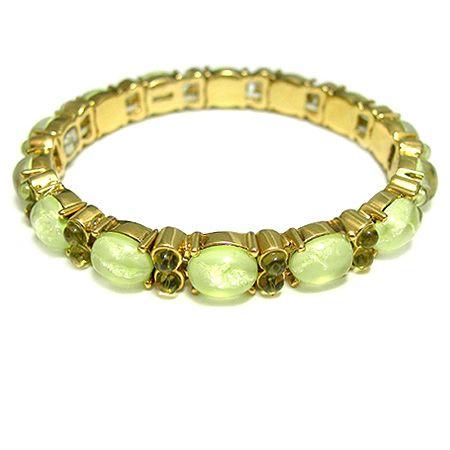 MONET 柔美晶石魔力手鍊-綠色