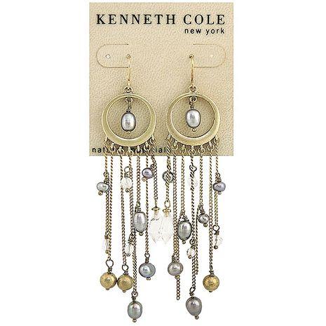 KENNETH COLE 天使之心搖曳耳環(長型10cm)