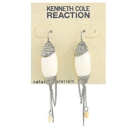 KENNETH COLE 銀色方舟雅致耳環(長型6.5cm)-服飾‧鞋包‧內著‧手錶-myfone購物