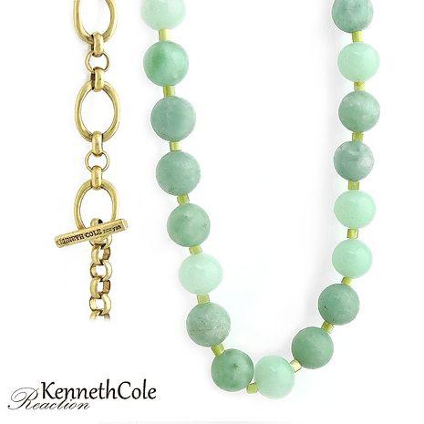 KENNETH COLE 擁抱翠綠珠串項鍊-服飾‧鞋包‧內著‧手錶-myfone購物