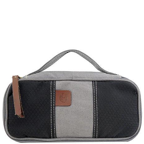 Timberland 帆布化妝包/手抓包-灰色(app)-服飾‧鞋包‧內著‧手錶-myfone購物