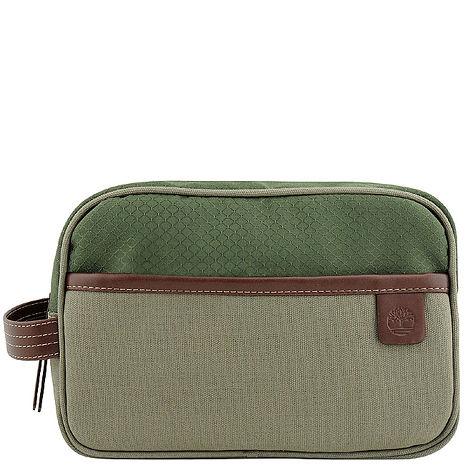 Timberland 帆布化妝包/手抓包-大型 /橄欖綠色(app)-服飾‧鞋包‧內著‧手錶-myfone購物